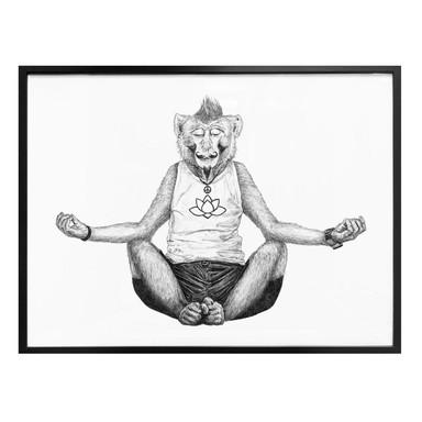 Poster Kools - Monkey Yoga