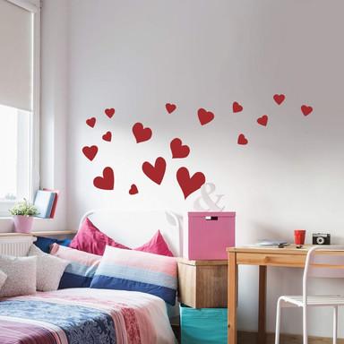 Wandtattoo Hearts - Bild 1
