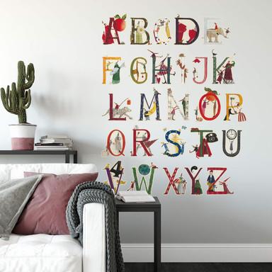 Wandtattoo Leffler - Alphabet