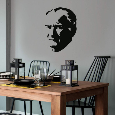 Wandtattoo Mustafa Kemal Atatürk
