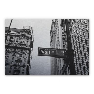 Alu Dibond Bild - Wall Street 02
