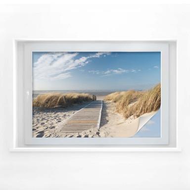 Fensterfolie - An der Ostsee