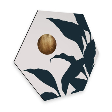Hexagon - Alu-Dibond Kubistika - In the jungle