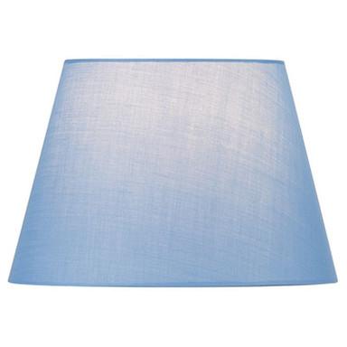 Leuchtenschirm Fenda, konisch, blau, 300 mm
