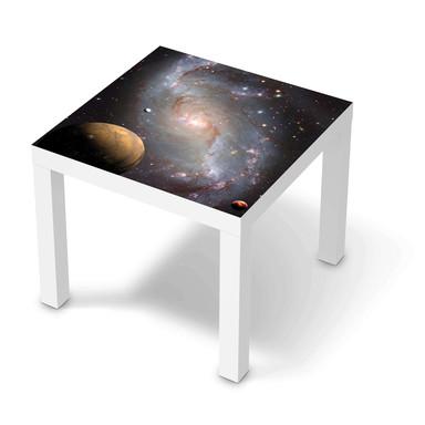 Möbelfolie IKEA Lack Tisch 55x55cm - Milky Way