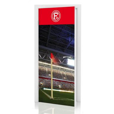 Türdeko Fortuna Düsseldorf Espirt Arena Eckfahne - Bild 1