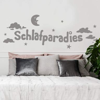 Wandtattoo Schlafparadies