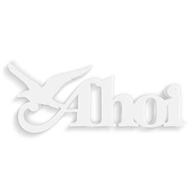 Dekobuchstaben 3D-Anhänger -Ahoi 1-