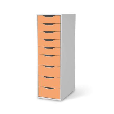 Folie IKEA Alex 9 Schubladen - Orange Light