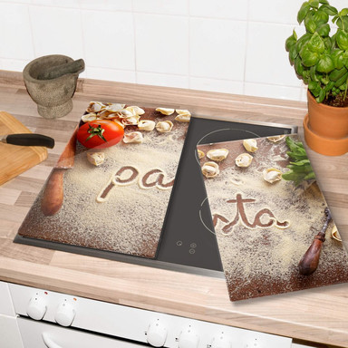 Herdabdeckplatte Pasta Tortellini