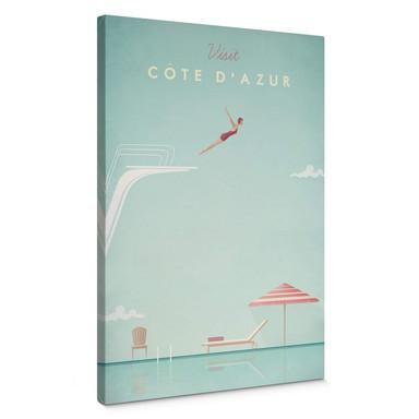 Leinwandbild Rivers - Côte d'Azur
