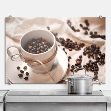 Spritzschutz Kaffee Zauber