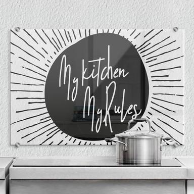 Spritzschutz - My kitchen my rules