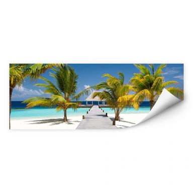 Wallprint Der Weg ins Paradies - Panorama
