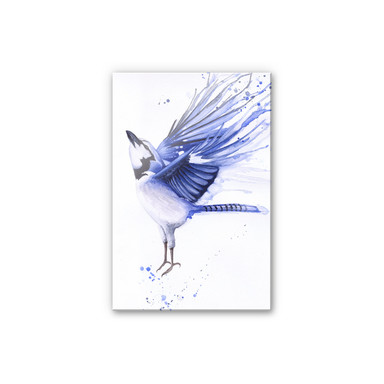 Acrylglasbild Müller -Blaumeise