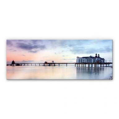 Acrylglasbild Seebrücke Sellin