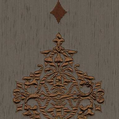 Architects Paper textiles Designpanel AP Wall Fashion braun, metallic - Bild 1