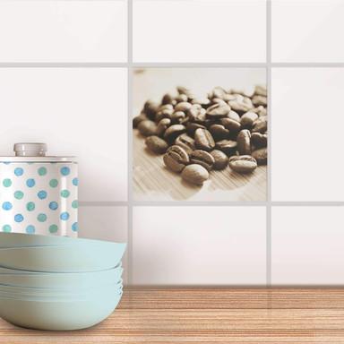 Fliesenaufkleber - Coffee Beans