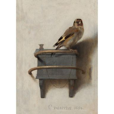 Leinwandbild Het puttertje ( Carel Fabritius) - Bild 1