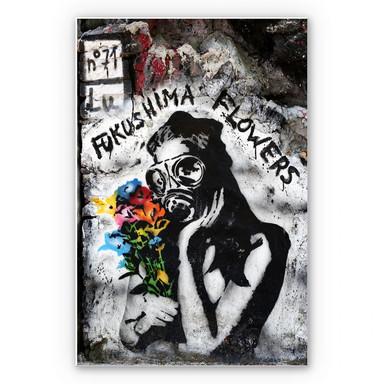 Wandbild Fukushima Flowers
