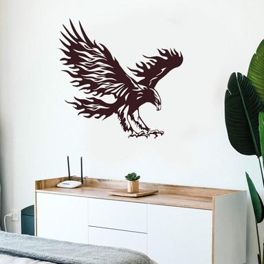 Wandtattoo Adler