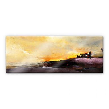 Acrylglasbild Niksic - Good Morning - Panorama