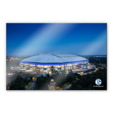 Acrylglasbild XXL Schalke Arena 02