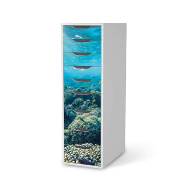 Folie IKEA Alex 9 Schubladen - Underwater World