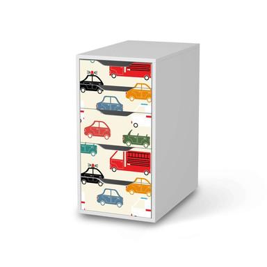 Klebefolie IKEA Alex 5 Schubladen - Cars
