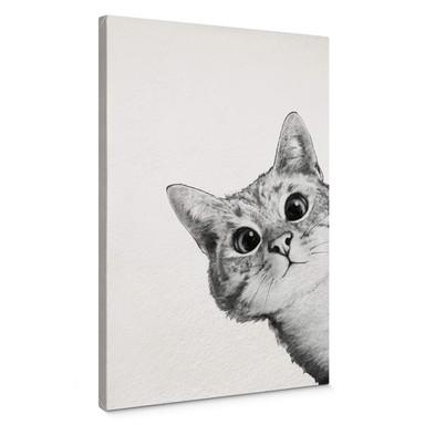 Leinwandbild Graves - Sneaky Cat