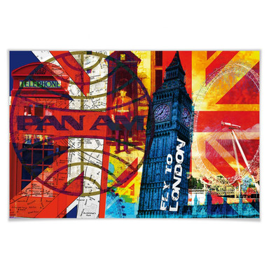 Poster PAN AM - London