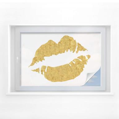 Sichtschutzfolie Gold Lips