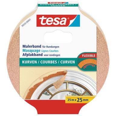 tesa® Malerband Kurven 25m x 25mm - Bild 1