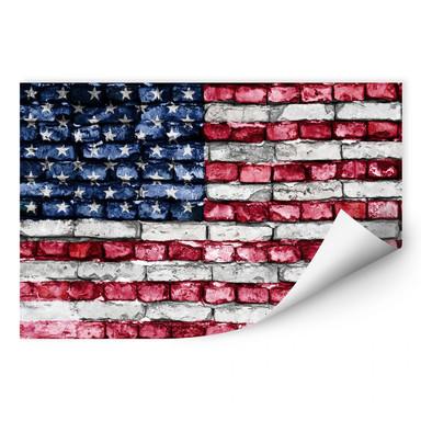 Wallprint Stars and Stripes