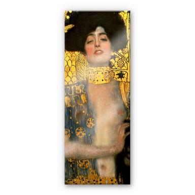 Acrylglasbild Klimt - Judith mit dem Haupt des Holofernes