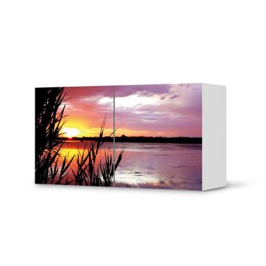 Folie IKEA Besta Regal 2 Türen (quer) - Dream away- Bild 1
