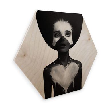 Hexagon - Holz Birke-Furnier Ireland - Hold on