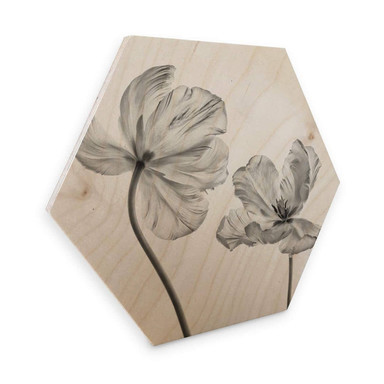 Hexagon - Holz Grønkjær - Tulpenblüte