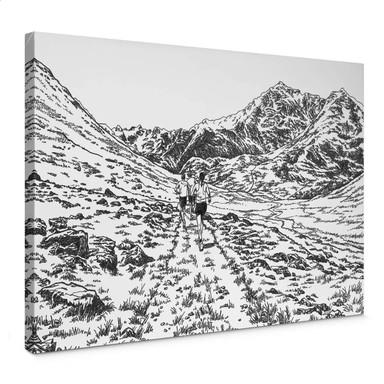 Leinwandbild Sparshott - Der Wanderweg