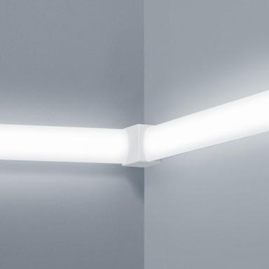 Lichtschienen Verbinder Vigo in weiss-matt vertikal 90°
