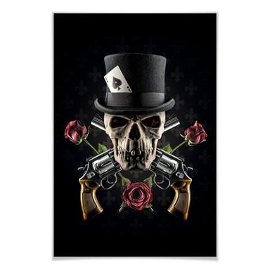 Poster Damstén - Guns and Roses
