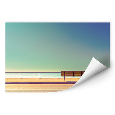 Wallprint Bratkovic - The Bench