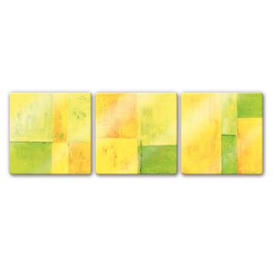 Glasbild Schüssler - Spring Composition (3-teilig)