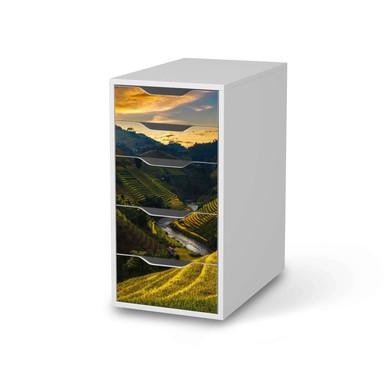 Klebefolie IKEA Alex 5 Schubladen - Reisterrassen