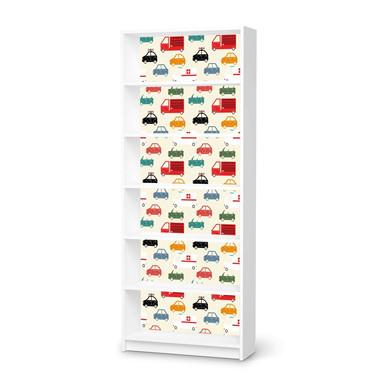 Klebefolie IKEA Billy Regal 6 Fächer - Cars- Bild 1