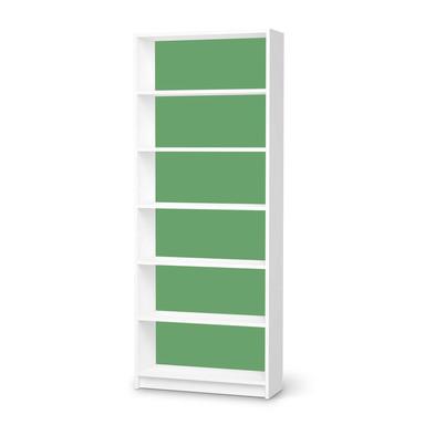 Klebefolie IKEA Billy Regal 6 Fächer - Grün Light- Bild 1
