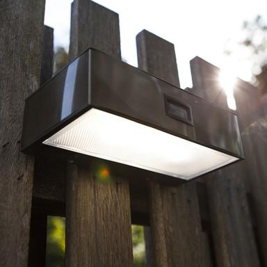 LED Solarleuchte Brick in Edelstahl 1.5W 150lm IP44