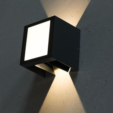 LED Wandleuchte 9W 3000K 345lm IP54