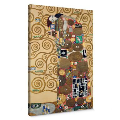 Leinwandbild Klimt - Die Erfüllung
