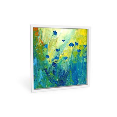 Wandbild Niksic - Der blaue Mohn